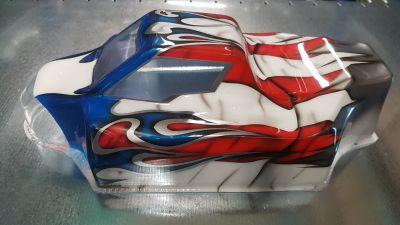 Carrosserie XRAY XB8 peinte - 359709