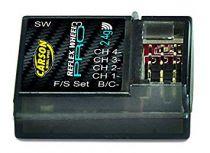 Carson 500501533 – Récepteur Reflex Wheel Pro 3, 2.4 GHz