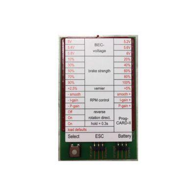 Carte de Programmation PROG CARD II - KONTRONIK 9306