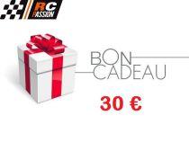 CARTE ou CHEQUE CADEAU - BON d'ACHAT - 30 eur