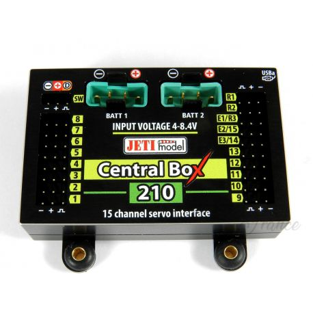 Central Box 210 + 2x Rsat2 + RC Switch