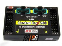 Central Box CB200 + 2 RSat2 + RC Switch JETI