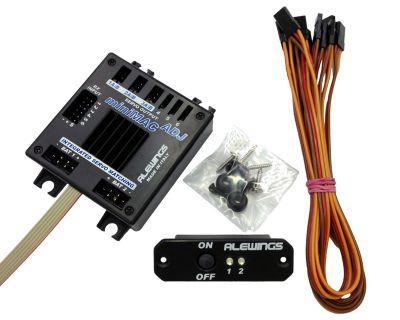 Centrale d\'alimentation miniMAC adjust 5-7,4V 30A avec fonctions servos- 90010408 - Alewings