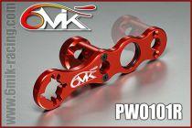Clef à roue et embrayage 6MIK rouge