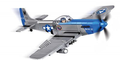COBI 5536 - Small Army - North American P-51D Mustang 265 pièces 1 personnage