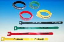 Colliers Velcro longueur 23cm 4 couleurs. En sachet de 8 pièces - S0448830