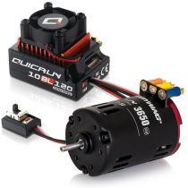 Combo  QuickRun 10BL120SD Moteur G2 6.5T - HW30125000