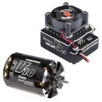 COMBO XERUN-V3H (Moteur V10-13.5T 2500kv + Vario 120 Amp V3.1 noir)
