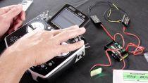 Configuration radio (émetteur) avec votre modèle