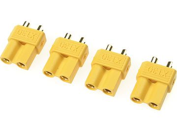 Connector Gold Plated XT-30 Male - GF-1030-002