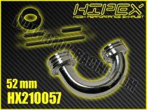 Coude 1/8 TT Parabolique Court S48 (48 mm)
