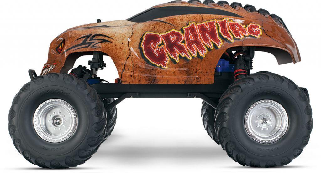 CRANIAC - 4x2 - 1/10 BRUSHED TQ 2.4GHZ - iD - TRX36094-1 - TRAXXAS