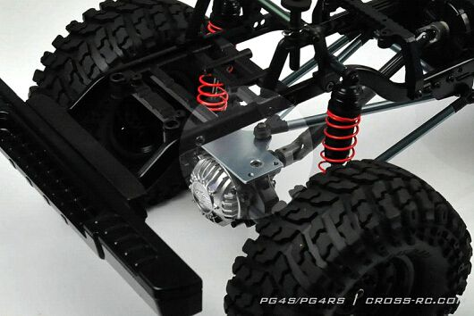 Crawling kit - PG4S 1/10 4x4 Pick up