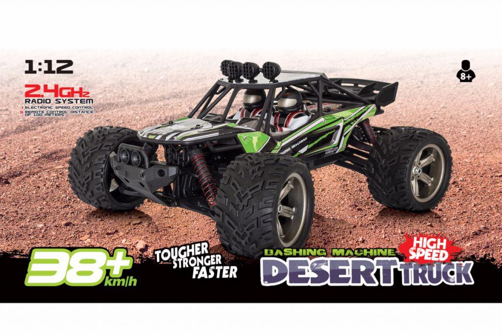 Desert truggy 1/12 Funtek DT12 Vert