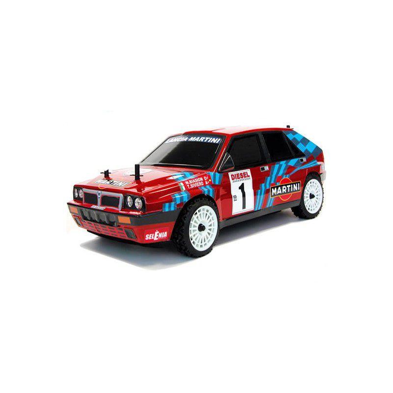 DISC. LANCIA DELTA INTEGRALE Martini San Remo 1989 1/10 RC car RTR K