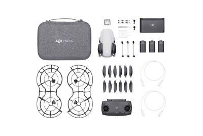 DJI Mavic Mini avec fly more combo - 3 batteries, 2 pack helices, 1 sac de transport