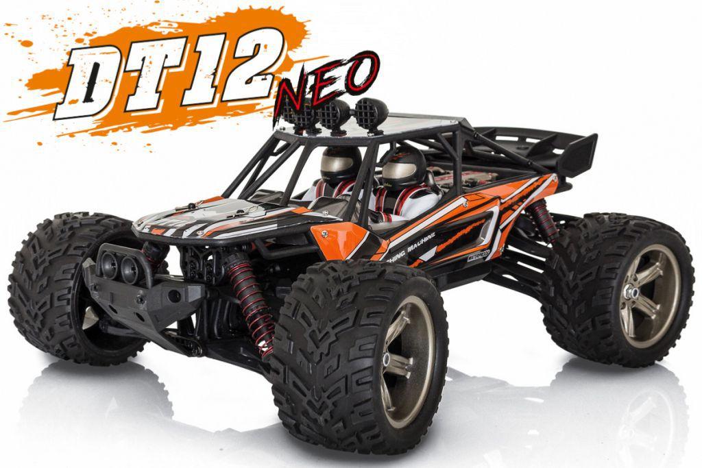 DT12 NEO | Desert Truggy 1/12 Funtek | DT-12 Vert & Orange