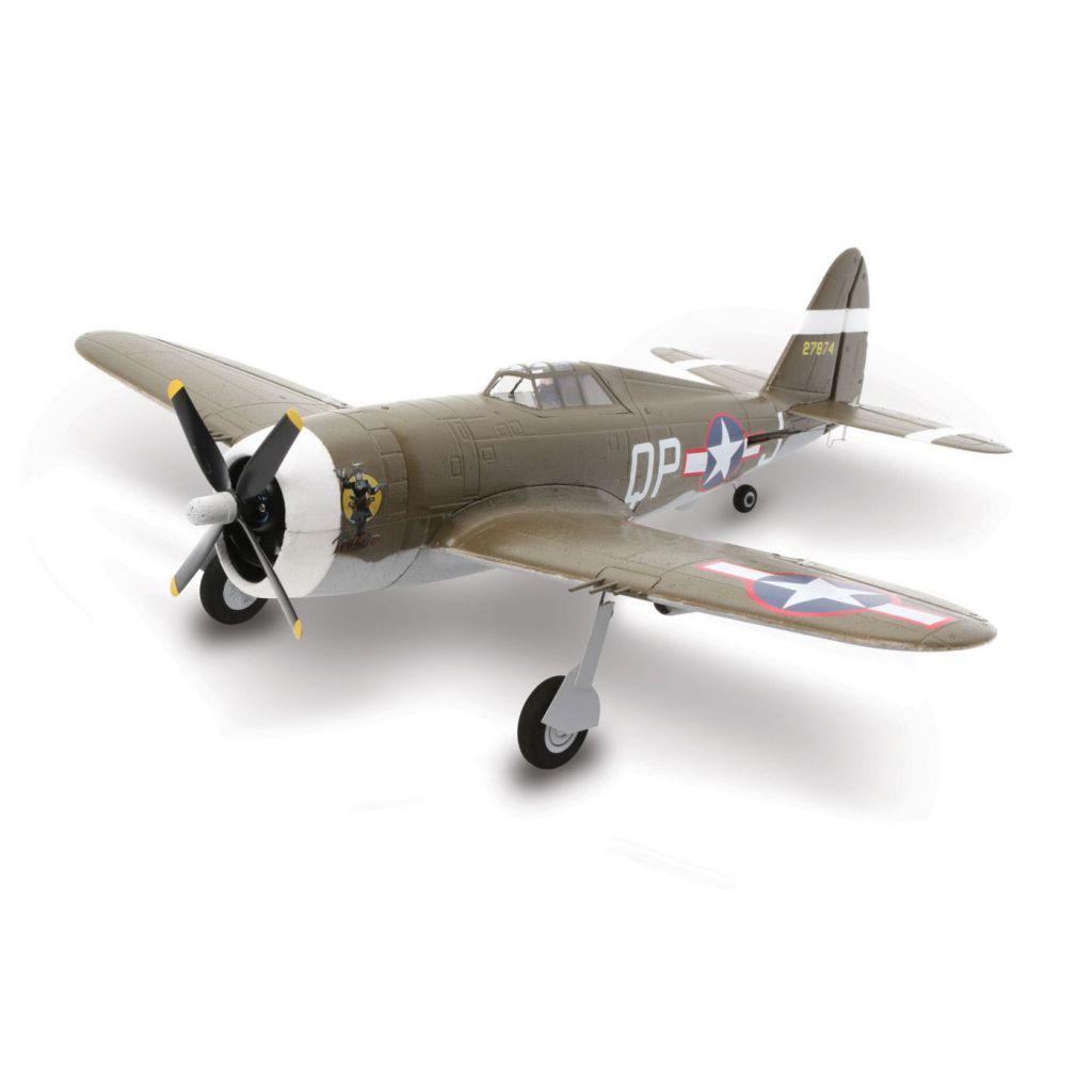 E-flite UMX P-47 BL BNF Basic - HORIZON HOBBY - Référence: EFLU3250