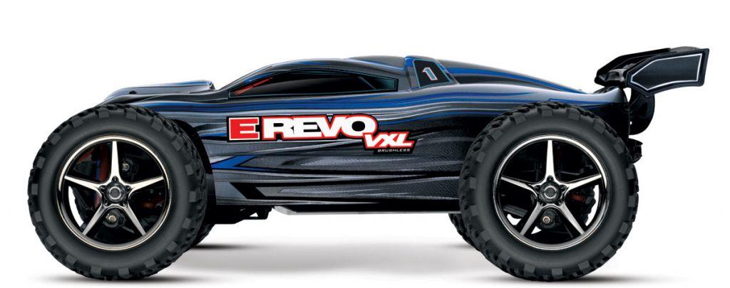 E-REVO - 4x4 - 1/16 VXL BRUSHLESS TQ 2.4GHZ - TSM - iD - PROMO