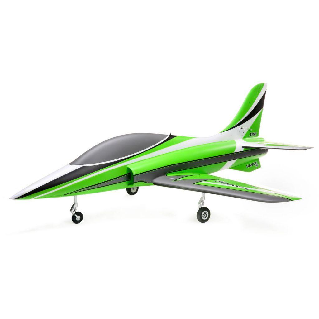 EFL7550 - E-Flite HAVOC Xe 80mm EDF Sport Jet BNF Basic avec AS3X et SAFE Select