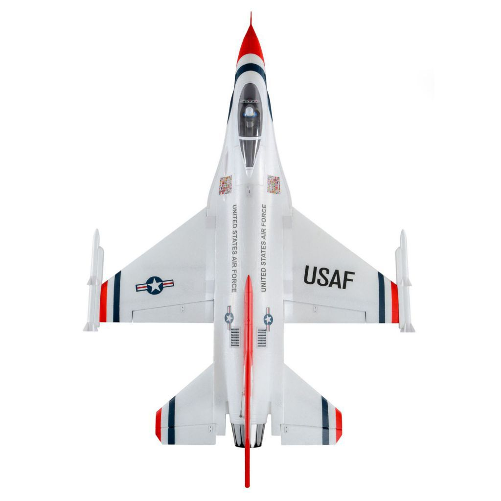 F-16 Thunderbirds 70mm EDF BNF Basic avec AS3X et SAFE Select, 815mm (EFL7850) - Horizon Hobby