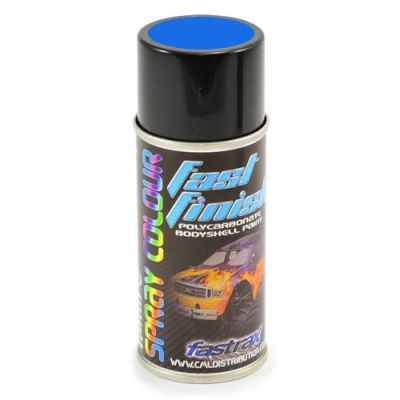 FAST267 -Fastrax Fast Finish Peinture en aérosol Bleu Racing (rally) 150ML pour lexan