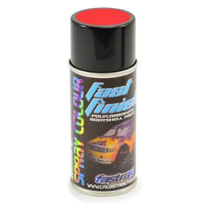 FAST273 -Fastrax Fast Finish Peinture en aérosol rouge fluo 150ML pour lexan