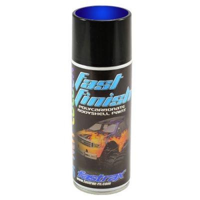 FAST288 -Fastrax Fast Finish Peinture en aérosol candy ice blue 150ML pour lexan