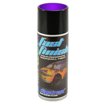 FASTRAX FAST FINISH CANDY ICE PURPLE SPRAY PAINT 150ML - FAST291