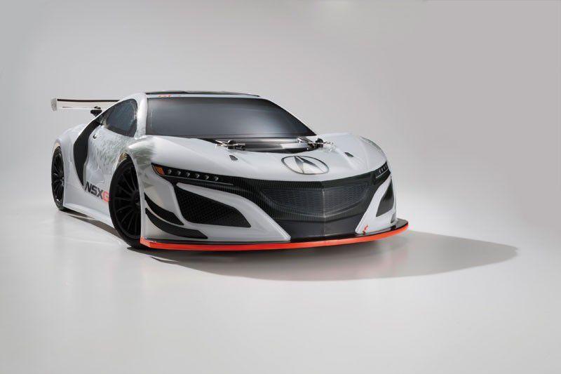 FAZER MK2 ACURA NSX GT3 RACE CAR 1:10 READYSET K.34421B