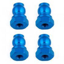 Fixations hautes amortisseurs 10mm bleus (4) B6.1 - AS91815 - Pièce détachée Team Associated - 91815
