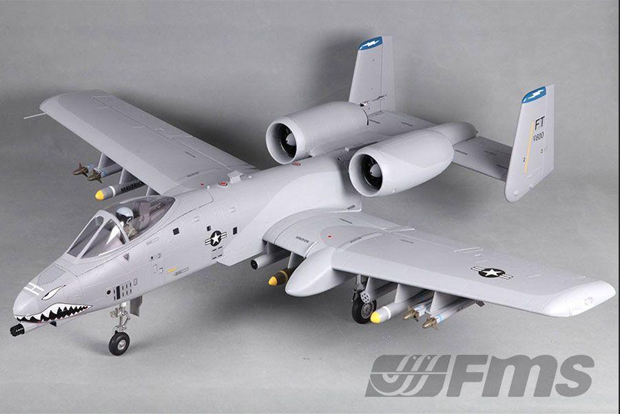 FMS 1500MM A10 WARTHOG TWIN 70MM EDF ARTF w/o TX/RX/BATT