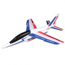 FMS 600MM FREE FLIGHT ALPHA GLIDER KIT (BLUE AND RED)