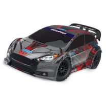 FORD FIESTA ST RALLY - 4X4 - 1/10 BRUSHED - SANS ACCUS/CHARGEUR