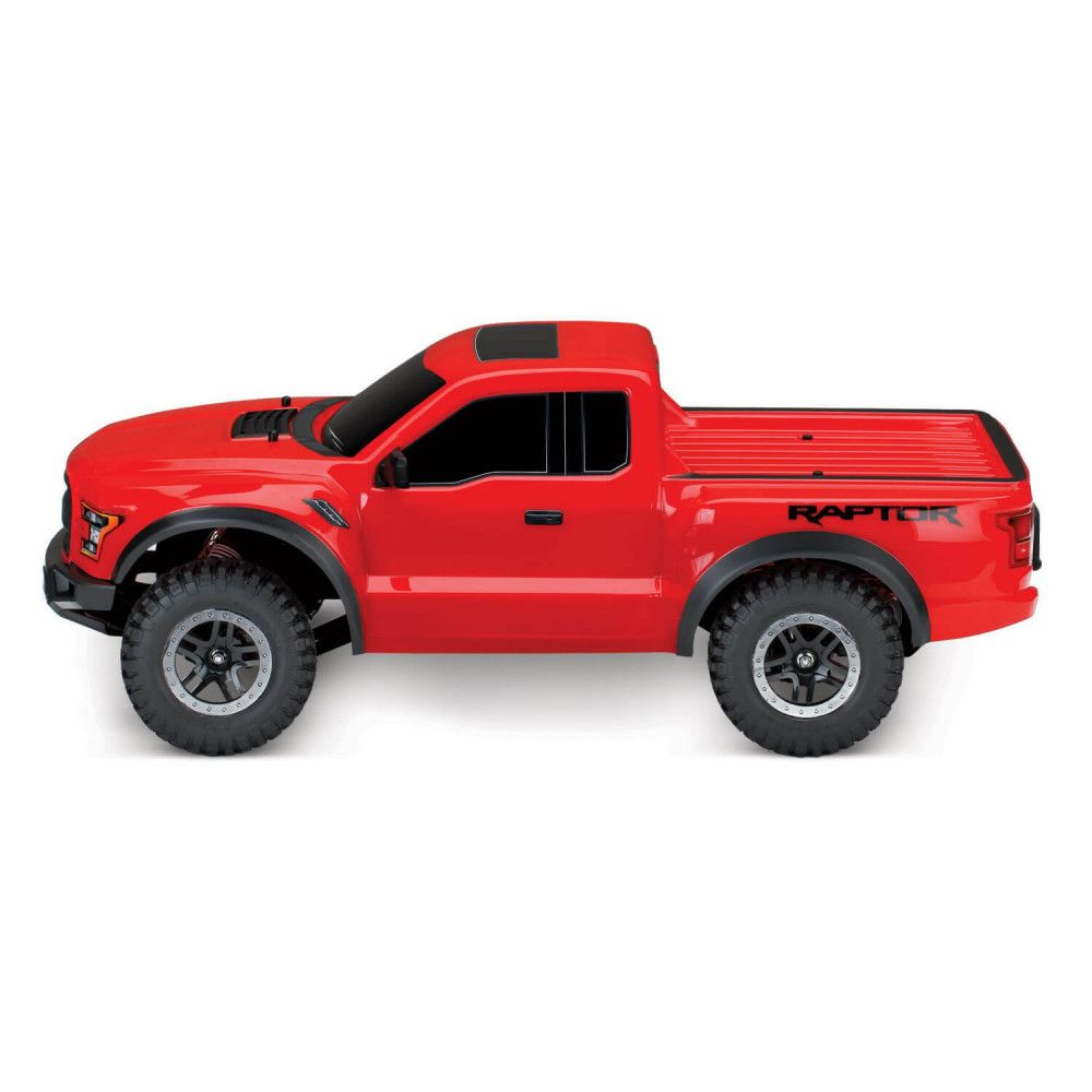 FORD RAPTOR F-150 RED - 4x2 - 1/10 BRUSHED TQ 2.4GHZ - iD - TRAXXAS 58094-1-RED