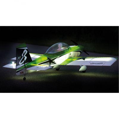 FPM3580A - premier aircraft RV8 (RV-8) SUPER PNP Night avec AURA 8 + Leds - Flex innovation