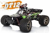 FTK-DT12-NEO/GR - Desert truggy 1/12 Funtek DT12  NEO Vert