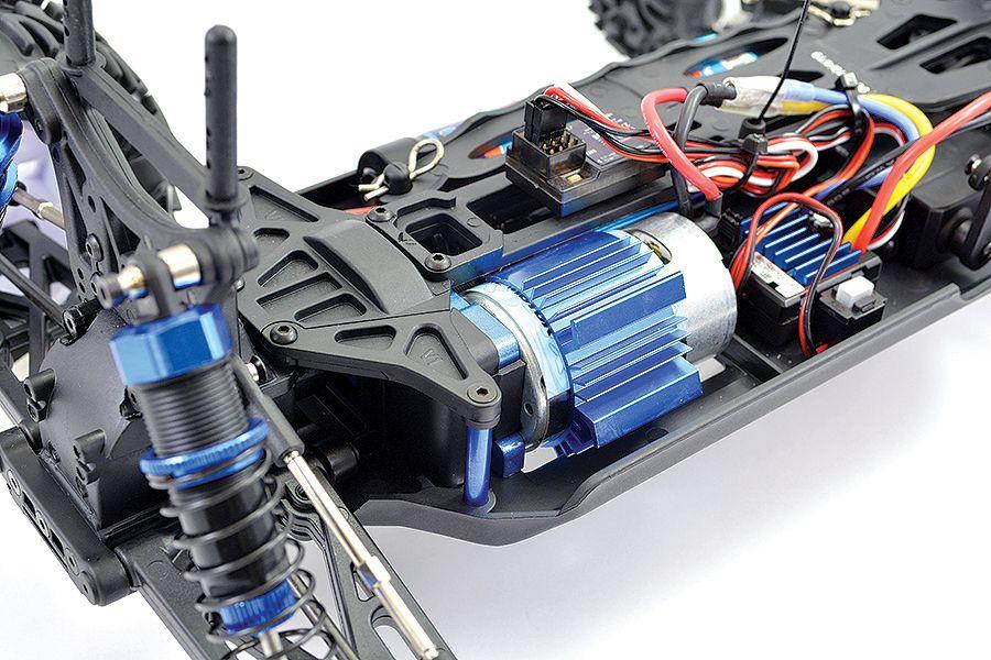 FTX CARNAGE 2.0 BRUSHED 1/10 4WD RTR BLEU - FTX5537B Rouge FTX5537R