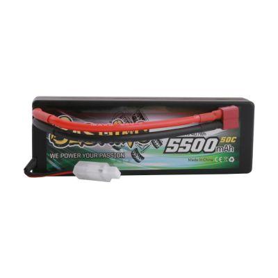 Gens ace Batterie LiPo 3S 11.1V-5500-50C(Deans) 139x46x40mm 350g GE3-5500-3D