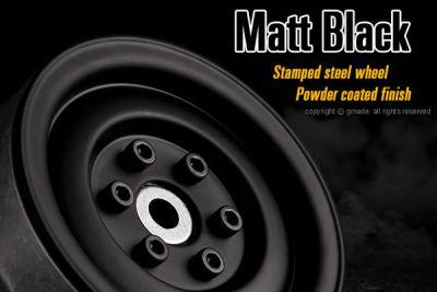GMADE JANTES METAL 1.9 SR03 BEADLOCK (noir mat) (la paire) - GM70184