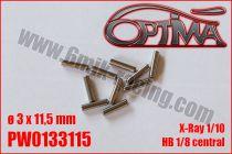 Goupilles de Cardans ø3 x 11,5mm - HB / XB2 / XB4 (10pcs)