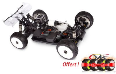 HB D817 - Voiture 1/8 Buggy Thermique + 1 Train de pneus 6mik Offert  - HB204124