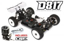 HB D817 Combo - Voiture 1/8 Buggy + Moteur ORION CRF 3T + Echappement CRF - HB204331