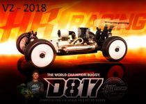 HB D817 V2 - Voiture 1/8 Buggy Thermique - HB204272