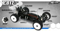 HB E817 - Voiture 1/8 BLS Buggy - HB204035