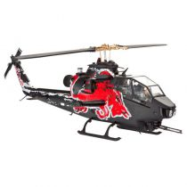 Hélicoptère BELL Cobra TAH-1F 1:100 - Red Bull - New Ray - 29843