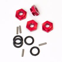 Hexagone de roue av/ar Alu + joint