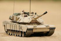 HOBBY ENGINE M1A2 ABRAMS BATTLE TANK - DESERT HE0817