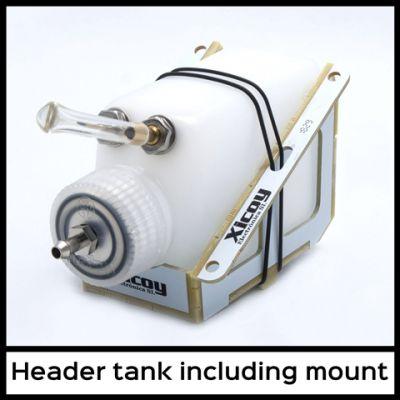 HT125sup - Xicoy - Réservoir nourrice (header tank) avec support
