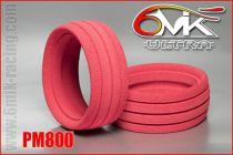 Inserts 1/8TT «Ultra» rose (la paire) - PM800 - Pièces et Options 6Mik